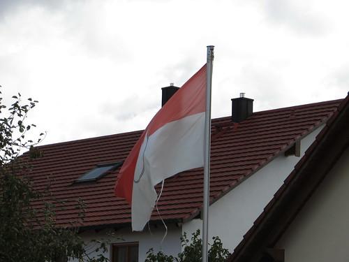 20171006 09 416 ostbay HausDach Franken Wappen Fahne
