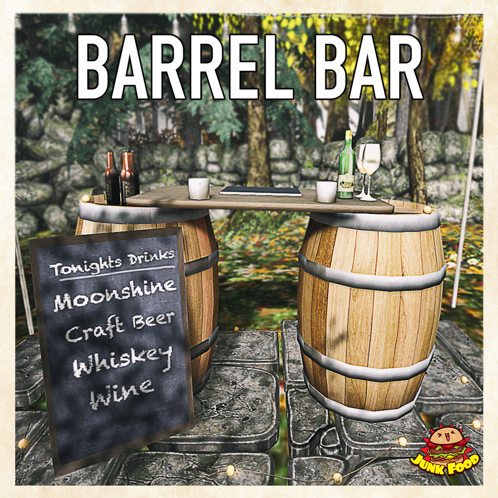 Junk Food – Barrel Bar Ad