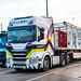 Truck Spotting Lymm (Popular2000 Truck Stop)