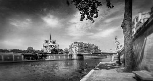 Paris, Notre Dame pano