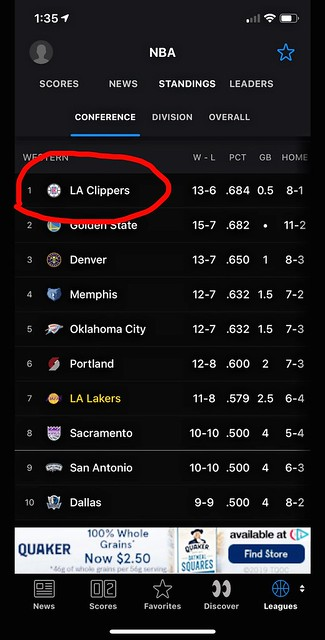 How About Them Clippers #Open
