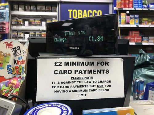 Woking going cashless