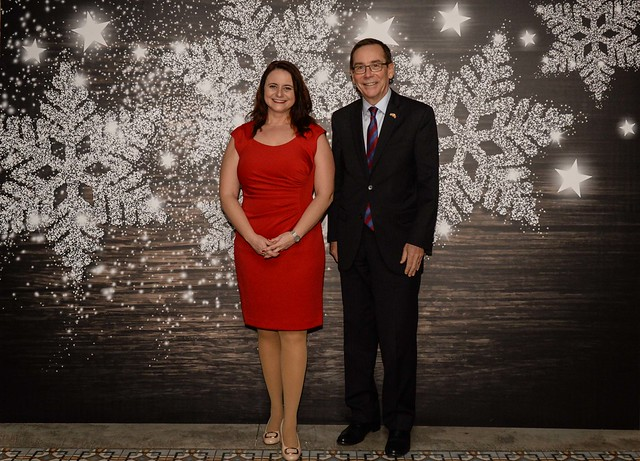 AmCham's 2018 Holiday Party Backdrop