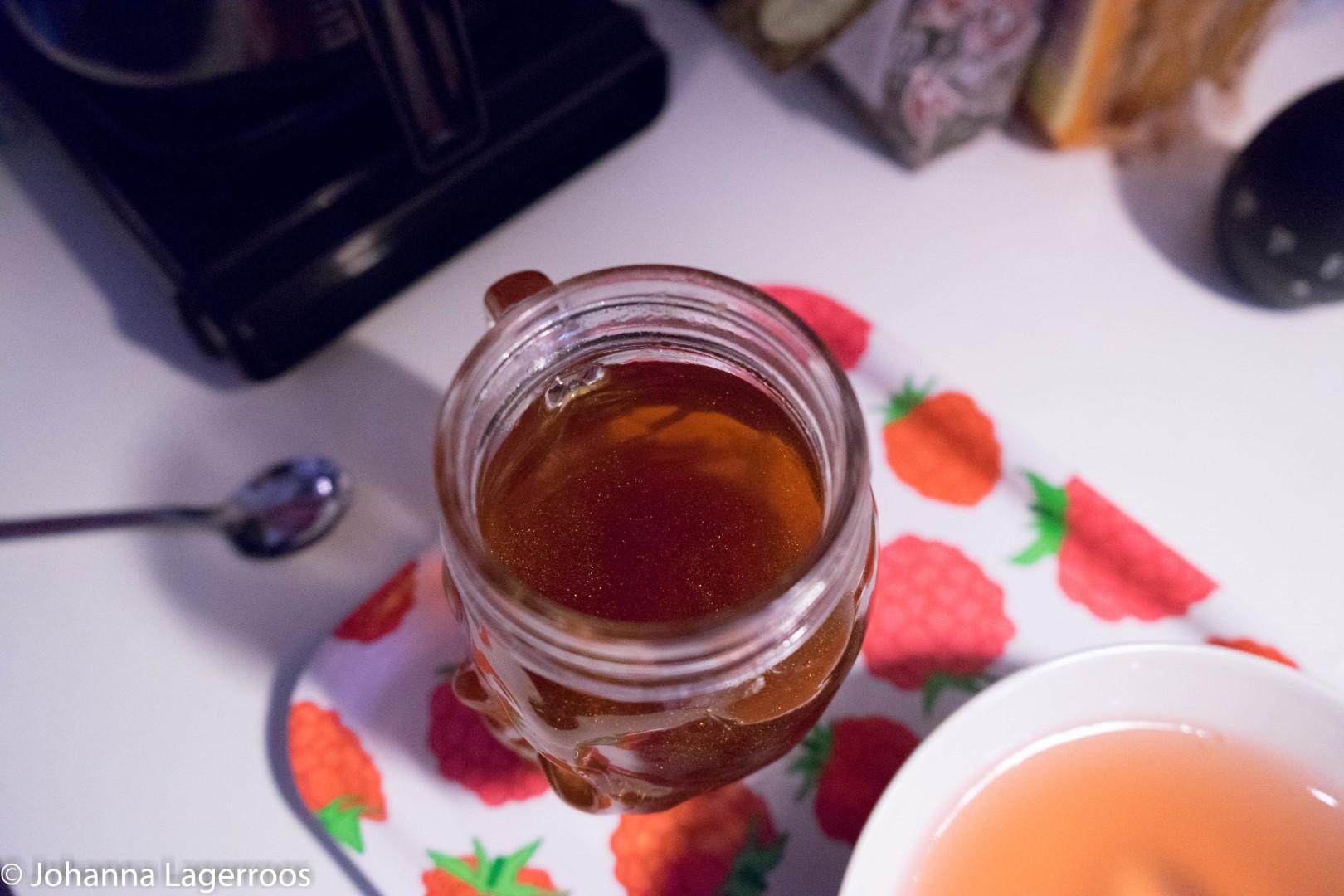 glitter tea