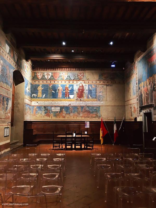 All'interno della Torre Grossa e del Palazzo