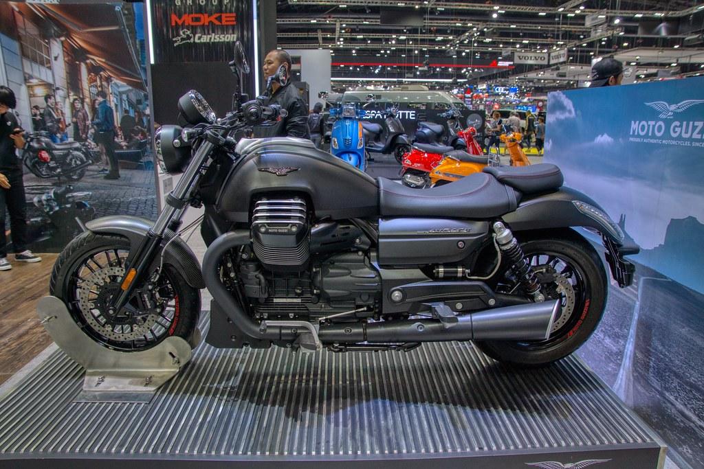 Moto Guzzi Audace motorbike at the 35th Thailand Internati