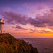 Sunrise at Byron Bay Lighthouse by adicunningham