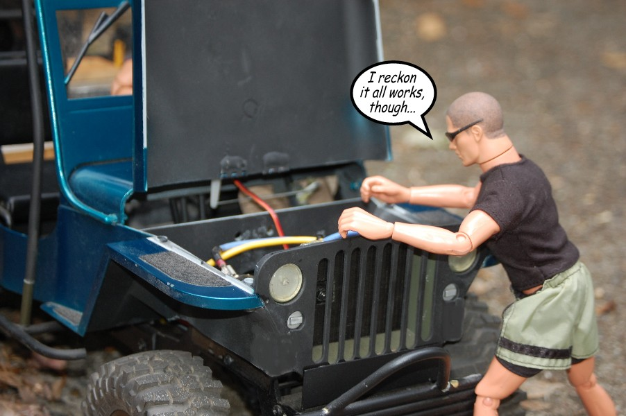 Building an RC sixth scale Jeep 46679390131_e9ccdc7789_o