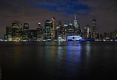 NYC - Manhattan skyline in blue hour  # 023