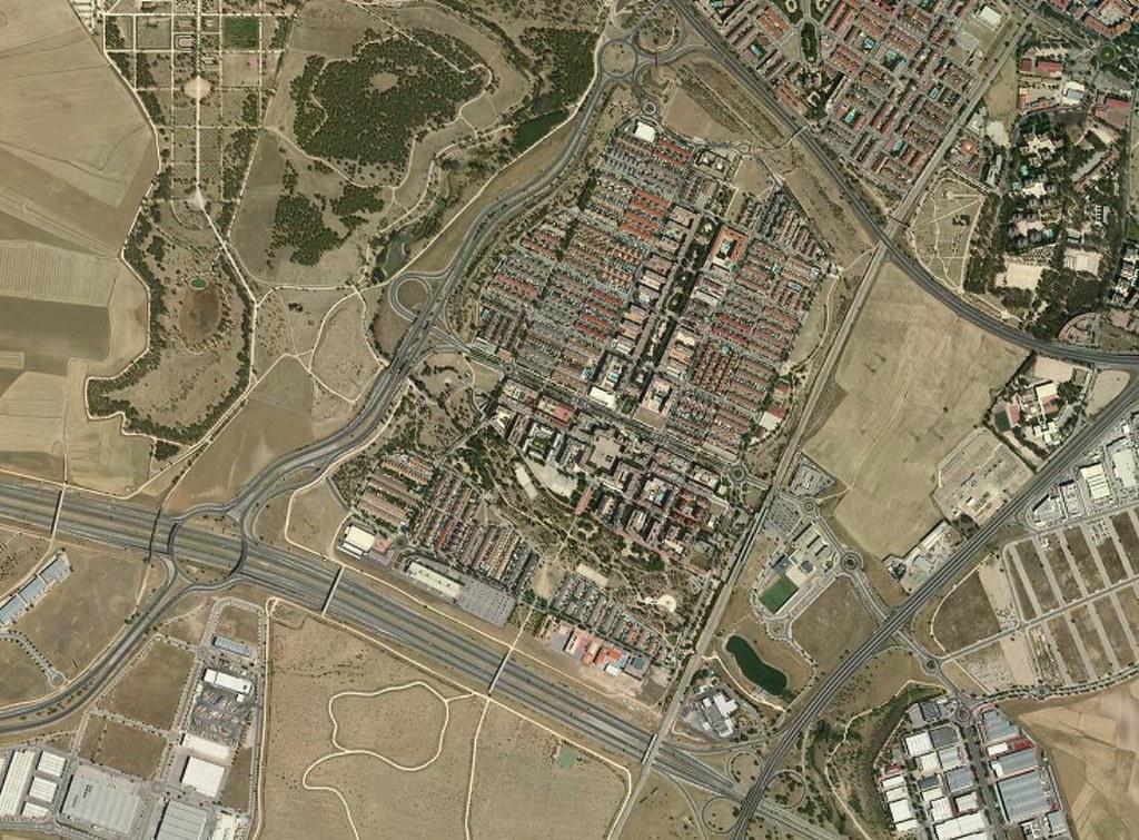 leganés (oeste), madrid, en plan el sector 4, después, urbanismo, planeamiento, urbano, desastre, urbanístico, construcción, rotondas, carretera