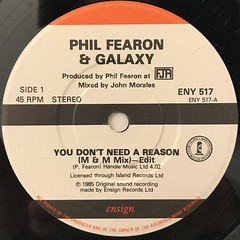PHIL FEARON & GALAXY:YOU DON'T NEED A REASON(LABEL SIDE-A)