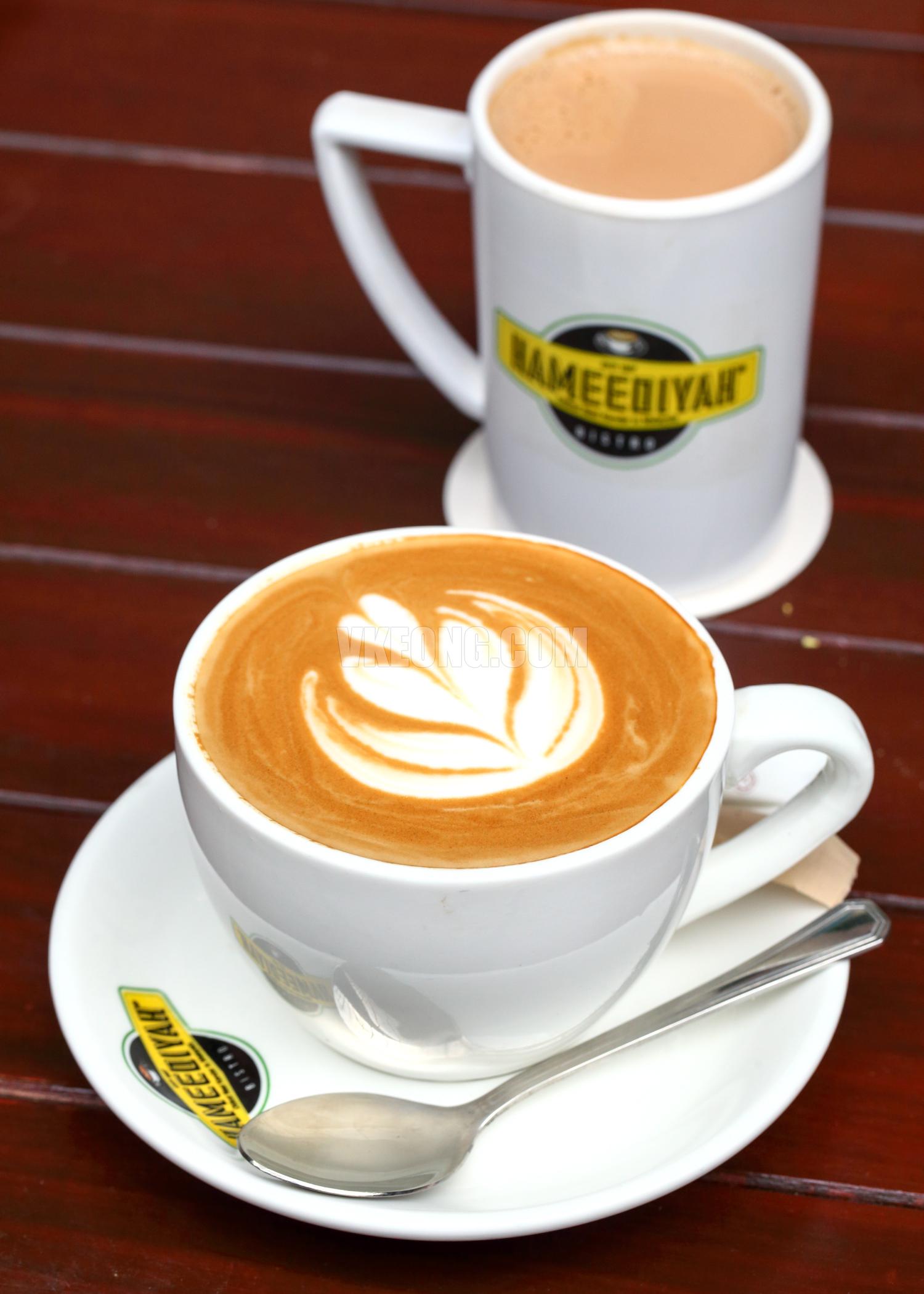 Cappuccino-and-Teh-Tarik