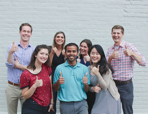 Thumbs Up New Hire Group Photo-2