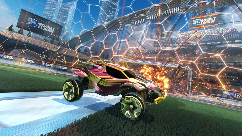 Full Cross-Platform Play Now Live in Rocket League – PlayStation Blog