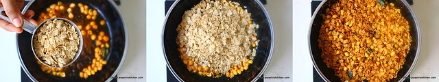 wheat flakes chivda 3