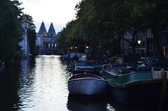 Boats on the Lijnbaansgracht