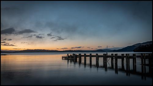 Morning Glow on Loch Lomond