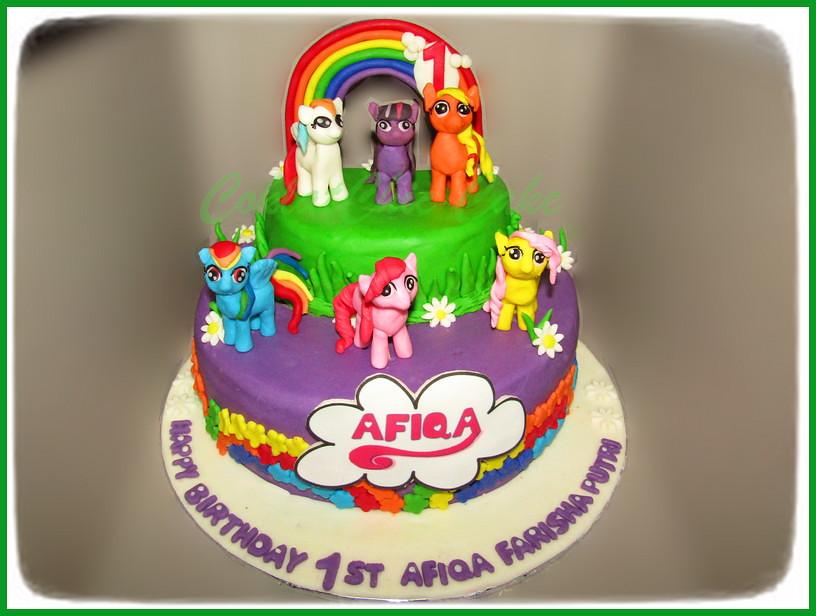 Cake My Little Pony AFIQA 22 cm