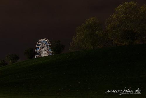 UN Climate Change Conference COP23 Bonn 2017 - Ferris Wheel in the Park Rheinaue