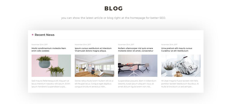 smart blog module -  candy store
