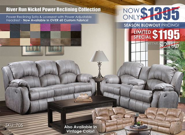 River Run Nickel Power Reclining Set_Special_705_200off