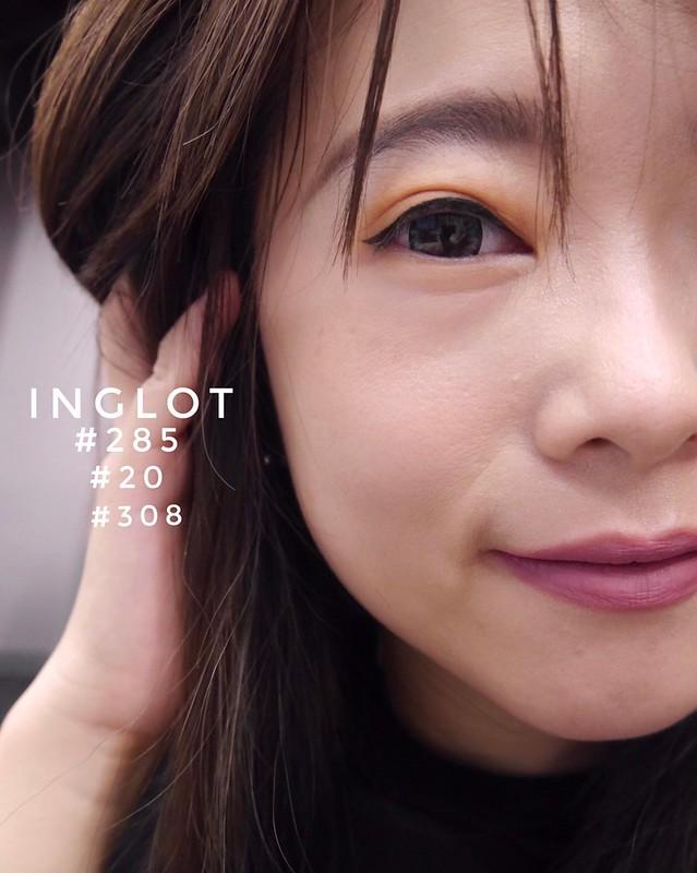 20181219 Inglot_#285 #308