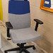Two tone ex demo chairs with high back