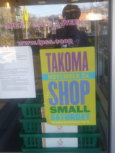 Takoma Park Maryland Shop Small Saturday