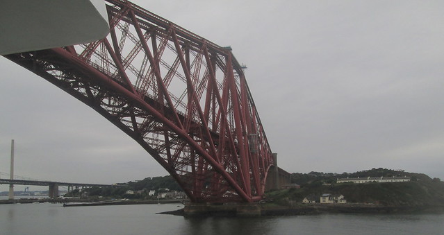 Forth Bridge North Span from East