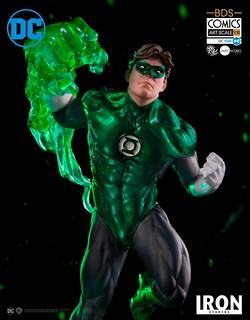 Iron Studios DC Comics【綠光戰警】Green Lantern 1/10 比例決鬥場景雕像作品