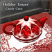 Spyralle Holiday Teapot - Candy Cane