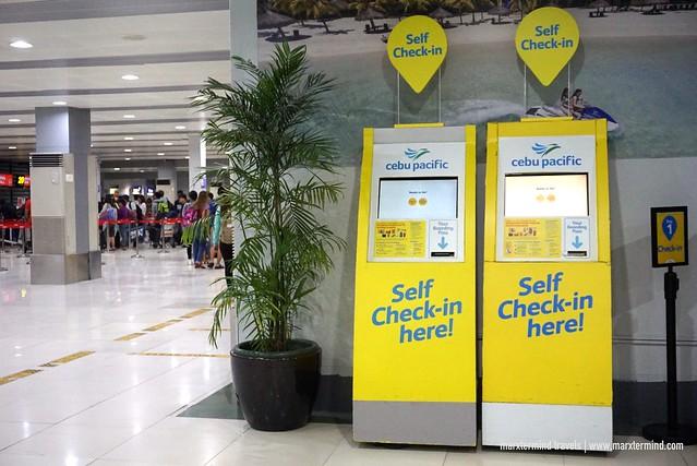 NAIA Terminal 4 Self-Check In