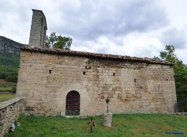 Solsonès 18 -03- Veinats de Guixers i Valls -05- Sant Martí de Guixers (Romànic) -04- Cara sur 01