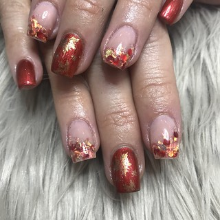 Autumnal nails