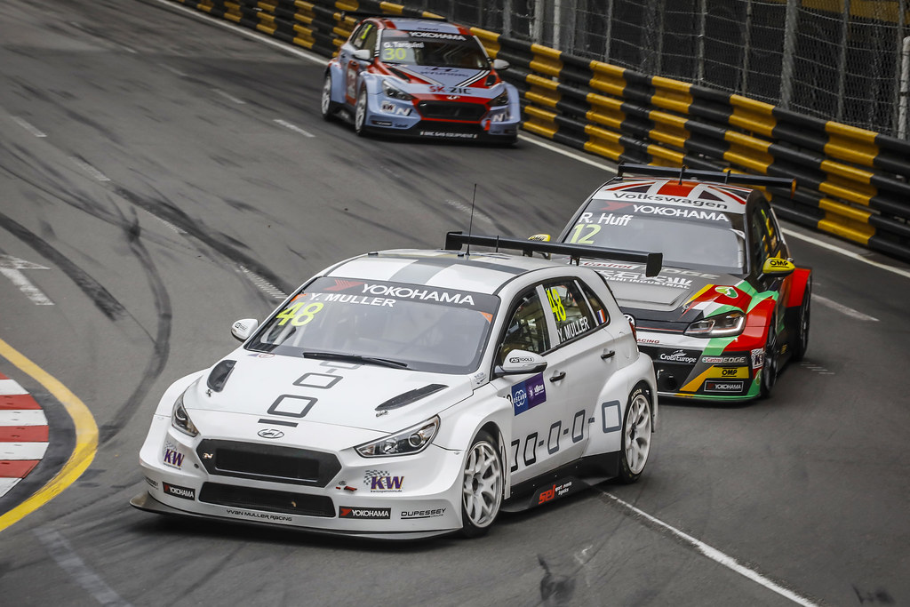 48 MULLER Yvan, (fra), Hyundai i30 N TCR team Yvan Muller Racing, action during the 2018 FIA WTCR World Touring Car cup of Macau, Circuito da Guia, from november  15 to 18 - Photo Francois Flamand / DPPI