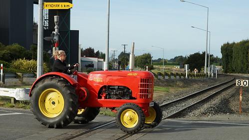 1942 Massey Harris 101 Tractor.