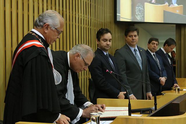 Posse Ministro Luiz Jos� Dezena da Silva