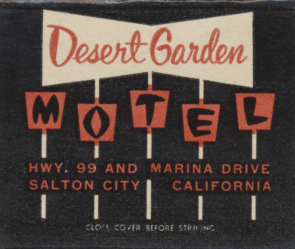 Desert Garden Motel - Salton City, California