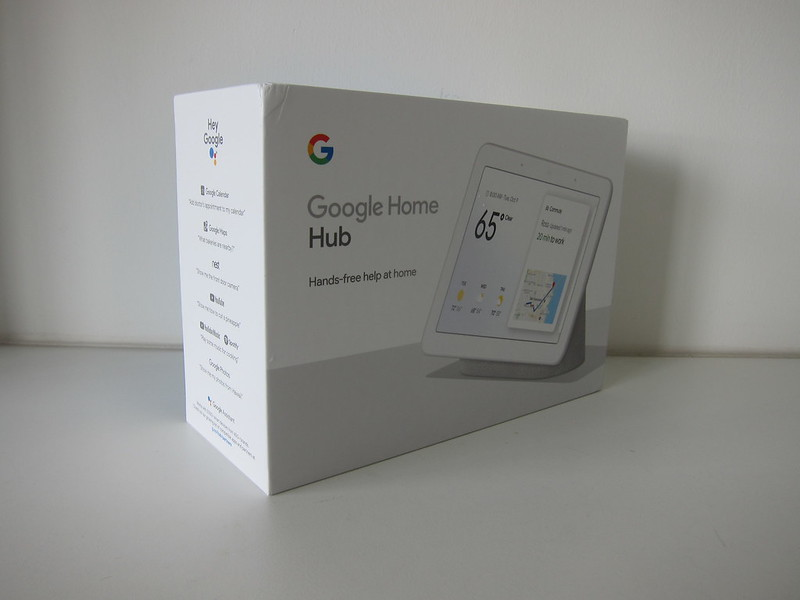 Google Home Hub - Box