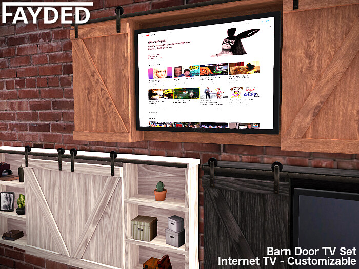 FAYDED – Barn Door TV