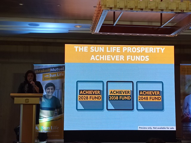 Got GOALS? Sun Life Asset Management's Solution: Prosperity Achiever Funds