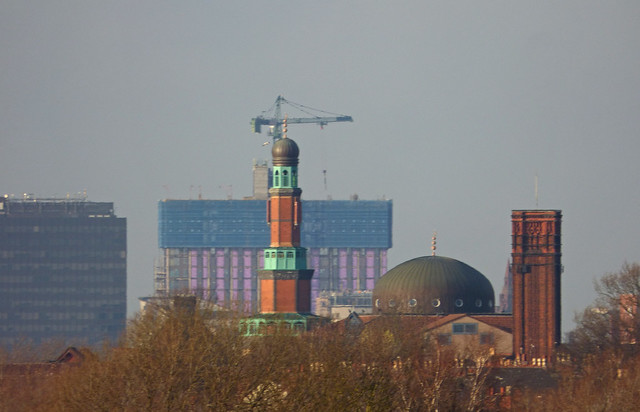 From Tyseley Station - Small Heath Central Mosque