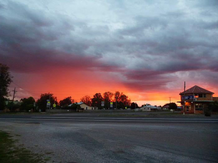 Sunset at Attunga