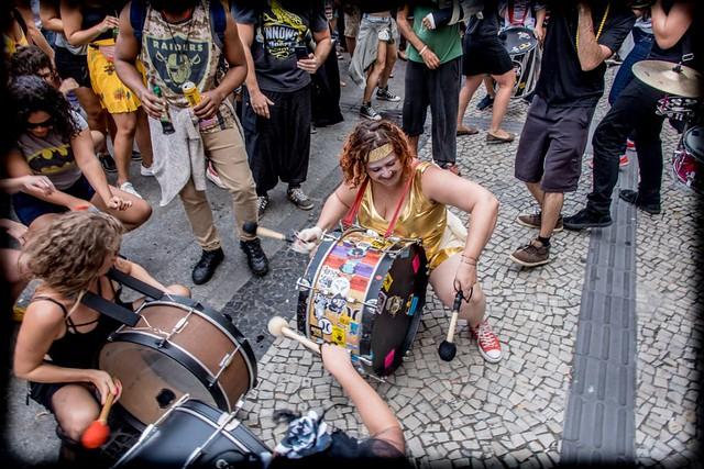 Nesta edição, cerca de 100 artistas irão se apresentar no BLoka, uma das atrações do Honk!Rio - Créditos: Foto: divulgação Honk!Rio