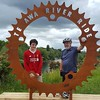 Te awa trail with two of my boys #bikerides #rivertrail