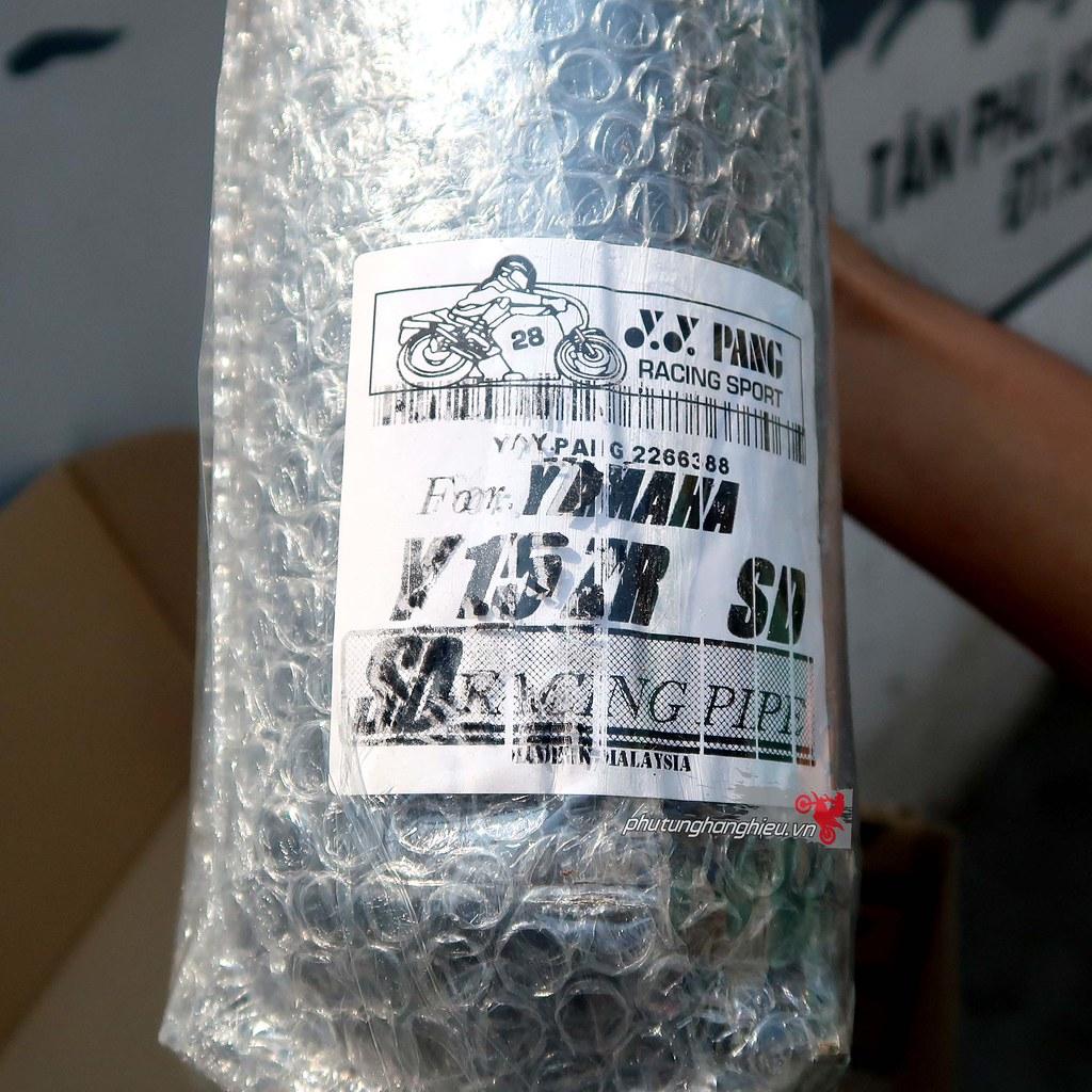 phutunghanghieu.vn, pô tăng giả zin YY Pang cho Exciter 150, pô xe máy, pô độ cho Exciter 150, pô 2 khúc cho Exciter 150, Exciter 150 độ PXL, Exciter 150 độ 62zz, pô YY Pang Malaysia, Yamaha Exciter 150