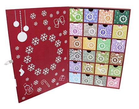 Limited quantity of Advent Calendars will arrive early next week for me to fill!!!