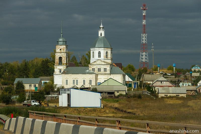 Церковь Архангела Михаила в селе Симбухово, Пензенская область
