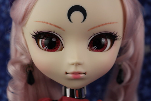 Black Lady Face Up