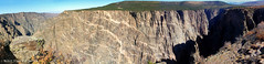 The Painted Wall, Black Canyon of the Gunnison National Park, Montrose, Colorado, USA